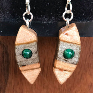 Carl Pittman | Wood Earrings