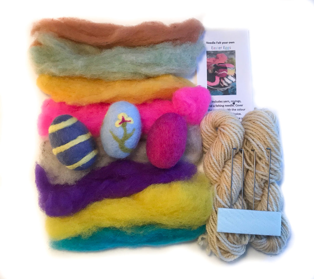Decorative Egg Felting Kit