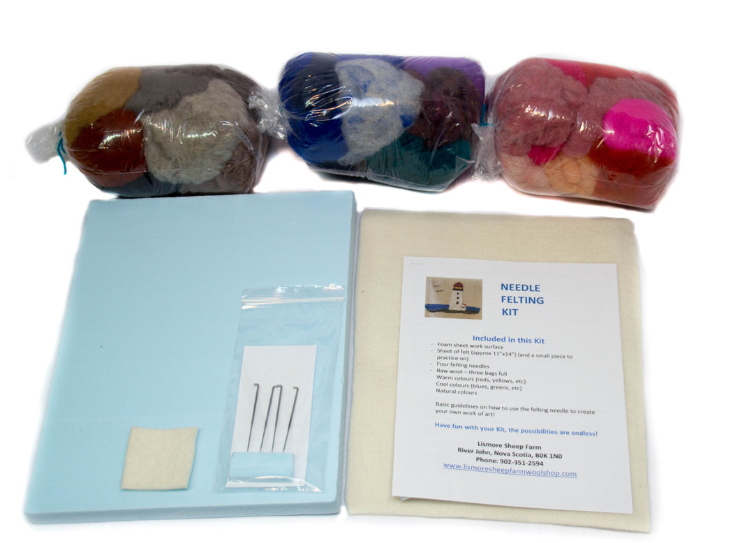 Felting Project Kit - Large