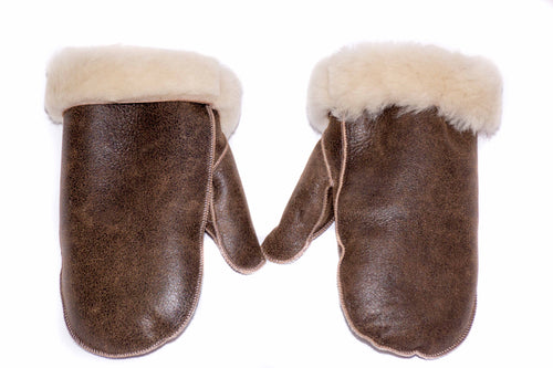 Mens Sheepskin Mittens