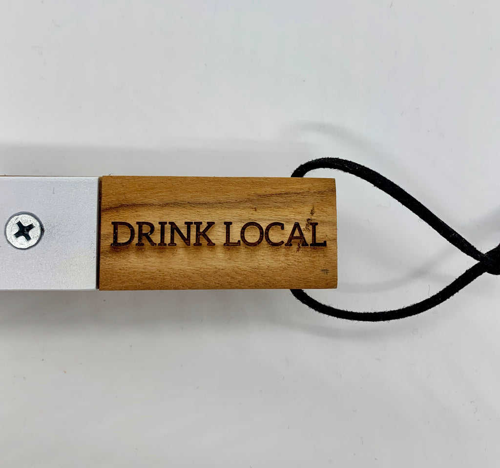 Wooden Bottle Opener - Drink Local