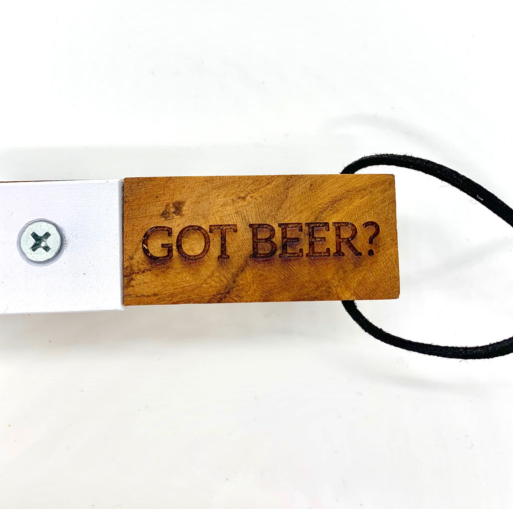 Wooden Bottle Opener - Got Beer?