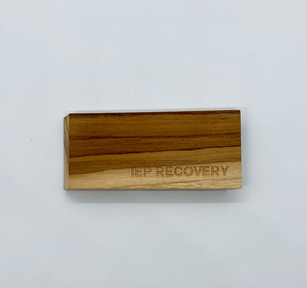 Flat Wooden Bottle Opener - IEP Recovery