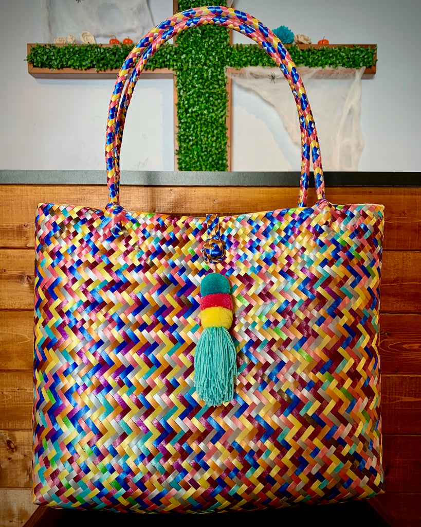 2005 - Multi-Colored Woven Purse