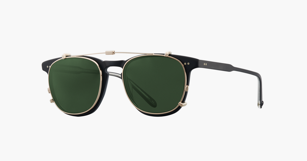 Garrett Leight, GLCO, Sunglasses, shades, fashion, eyewear, eyeglasses, independent, designer, designed in venice beach, California, la jolla, sun clips