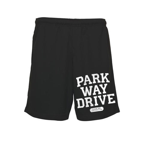 Ten Years Black Mesh Shorts