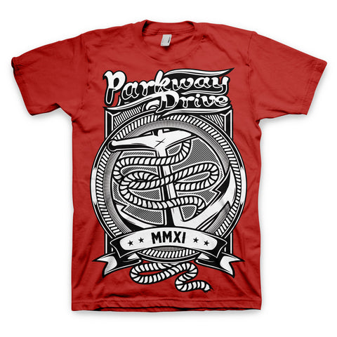 Anchor MMXI Red T-shirt
