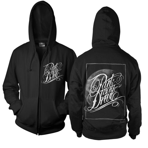 Atlas Logo Black Zip Hood