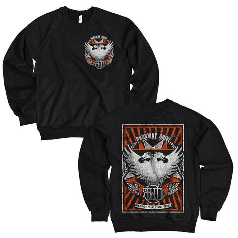 Regret Black Crew-neck Sweatshirt