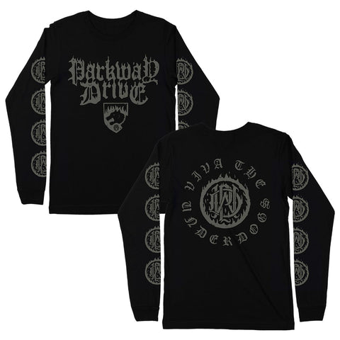 Fire Black Longsleeve