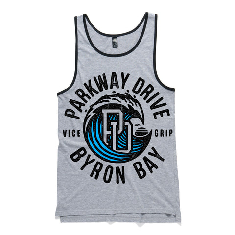 Vice Grip Wave Grey Tank