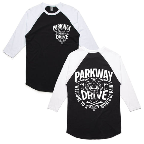 World of Pain Baseball / Raglan T-shirt