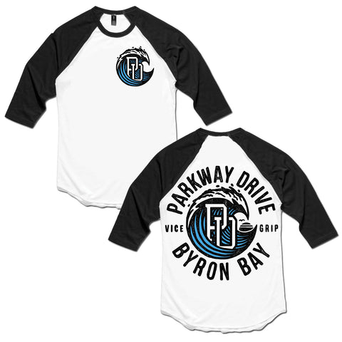 Vice Grip Wave Baseball / Raglan T-shirt