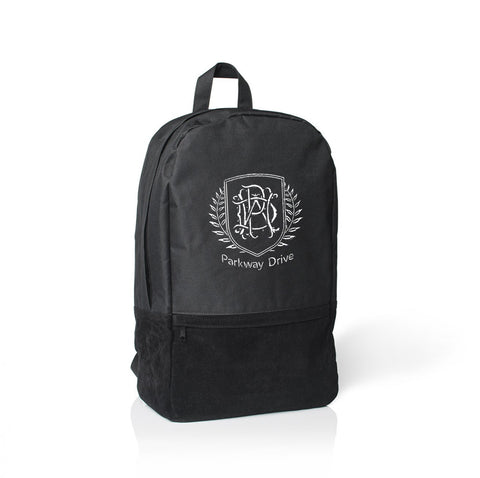 Crest Embroidered Backpack