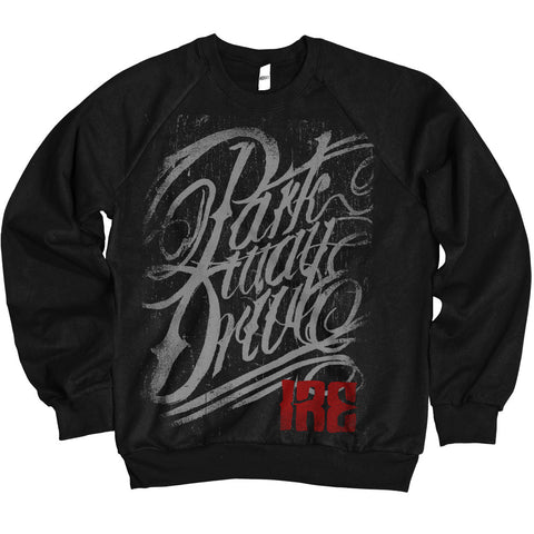 Ire Logo Black Crew-neck Sweatshirt