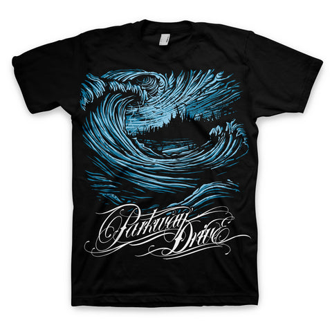 Wave Black T-shirt