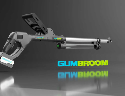 The Gum Broom - Gum Removal Machine