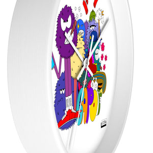 Capo wall clock 10""