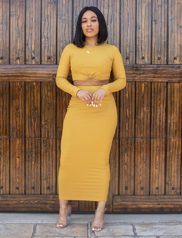 Golden Child Two Piece (Mustard)