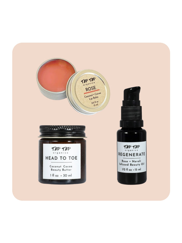 Mini Rose Skincare Set