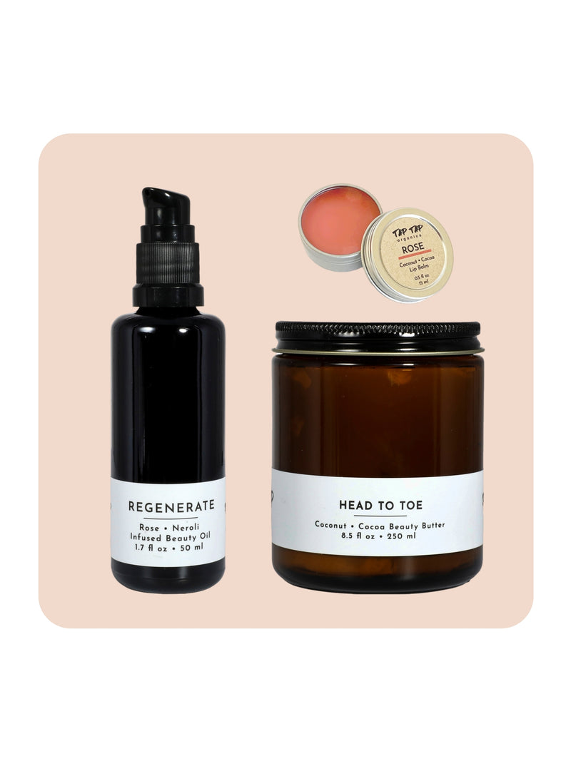 Rose Skincare Gift Set