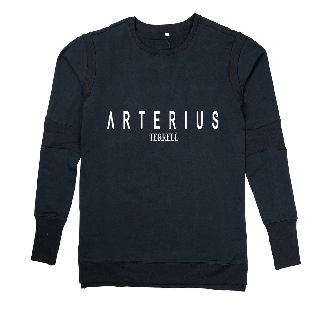 ARTERIUS TERRELL APPAREL PREMIUM LONG SLEEVE SHIRT - MEN'S SLIM FIT