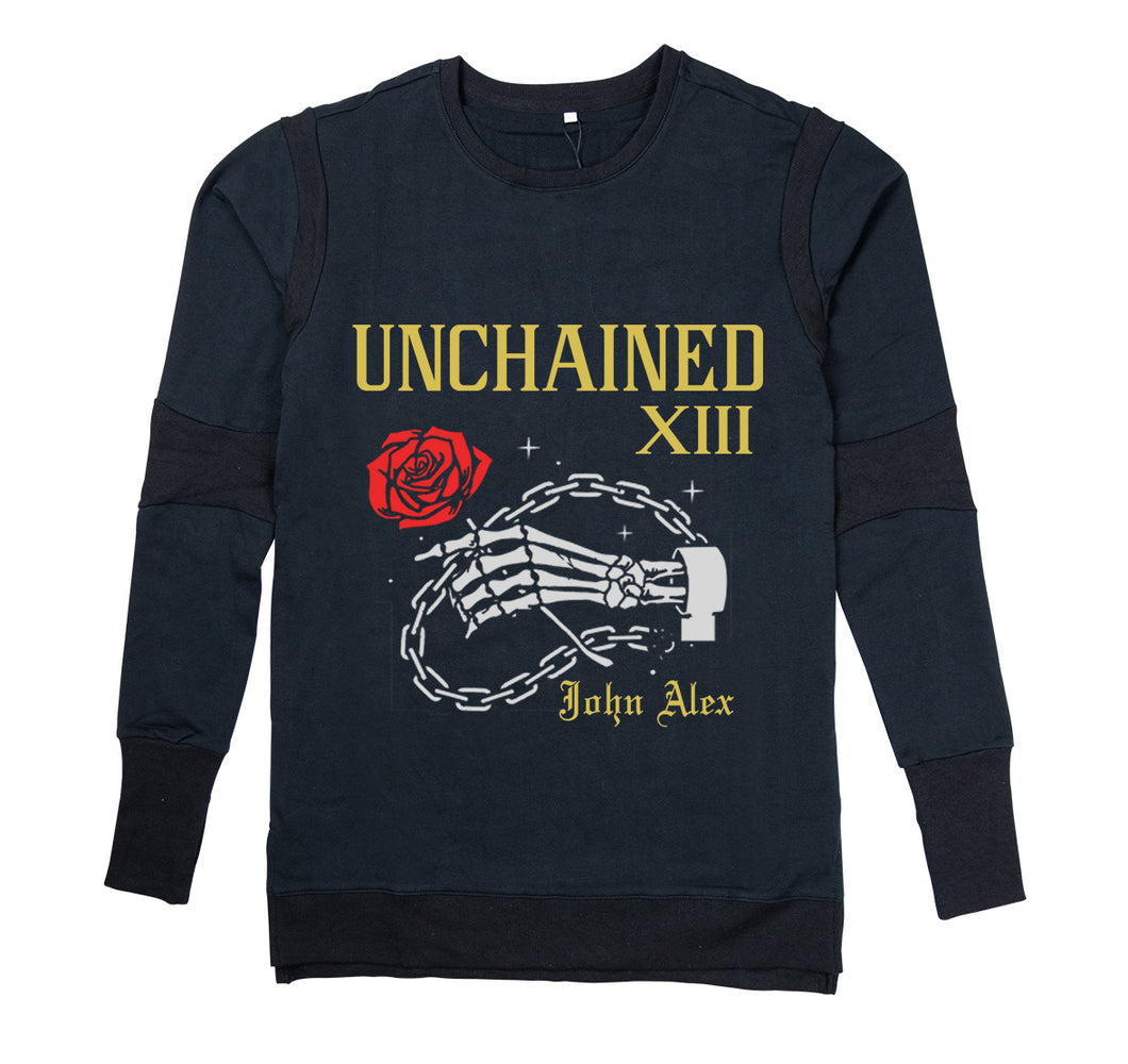 UNCHAINED APPAREL PREMIUM LONG SLEEVE SHIRT - MEN'S SLIM FIT