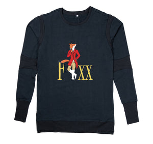 FOXX APPAREL PREMIUM LONG SLEEVE SHIRT - MEN'S SLIM FIT