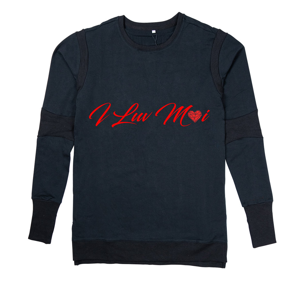 ILUVMOI APPAREL PREMIUM LONG SLEEVE SHIRT - MEN'S SLIM FIT