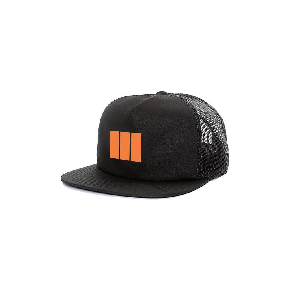 M3 APPAREL 5 PANEL TRUCKER MESH HAT