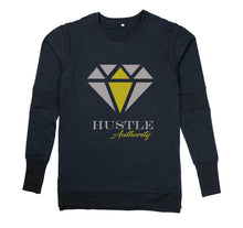 Load image into Gallery viewer, HUSTLE AUTHORITY PREMIUM LONG SLEEVE SHIRT - MEN'S SLIM FIT