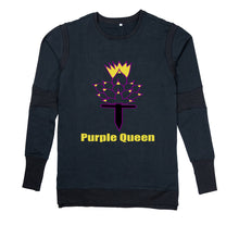 Load image into Gallery viewer, PURPLE QUEEN PREMIUM LONG SLEEVE SHIRT - MEN'S SLIM FIT