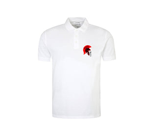 EATG APPAREL WHITE POLO