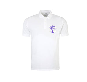 ROOTED FROM THE SOUL APPAREL WHITE POLO