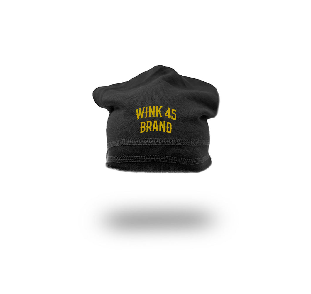 WINK 45 BRAND FRENCH TERRY SPORT BEANIE  - UNISEX