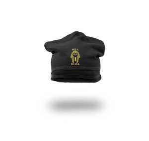 SOVA BLACK APPAREL FRENCH TERRY SPORT BEANIE  - UNISEX