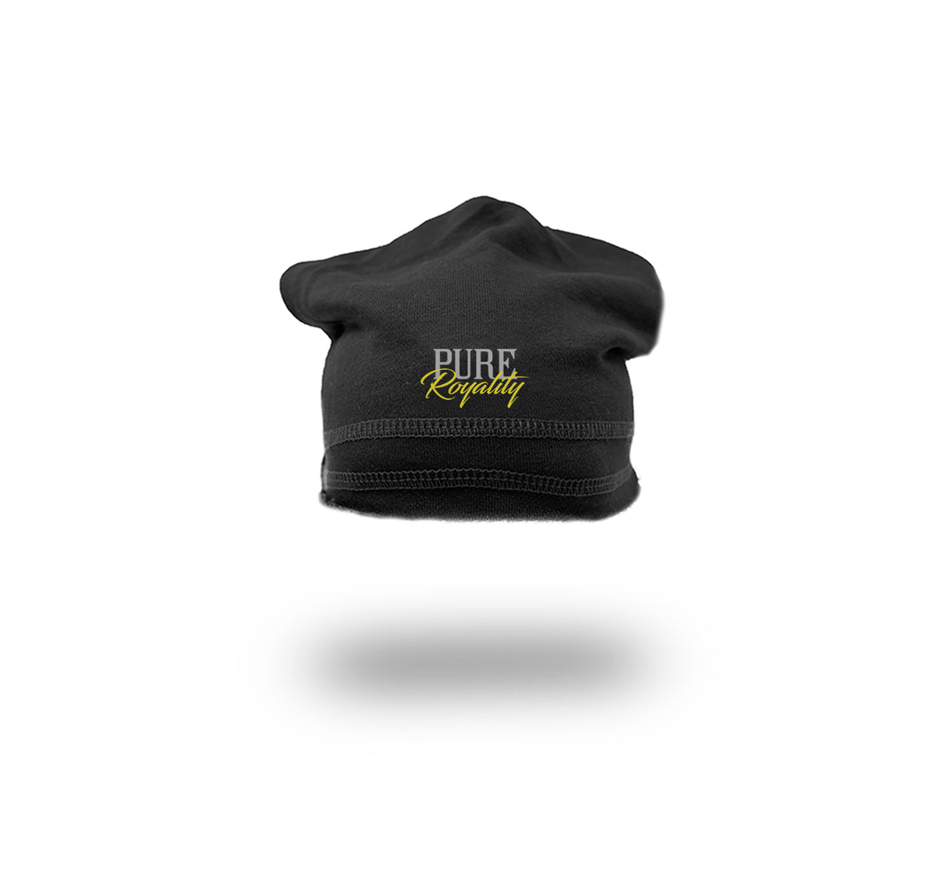 PURE ROYALITY FRENCH TERRY SPORT BEANIE  - UNISEX