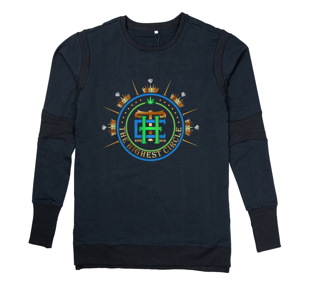 THE HIGHEST CIRCLE APPAREL PREMIUM LONG SLEEVE SHIRT - MEN'S SLIM FIT