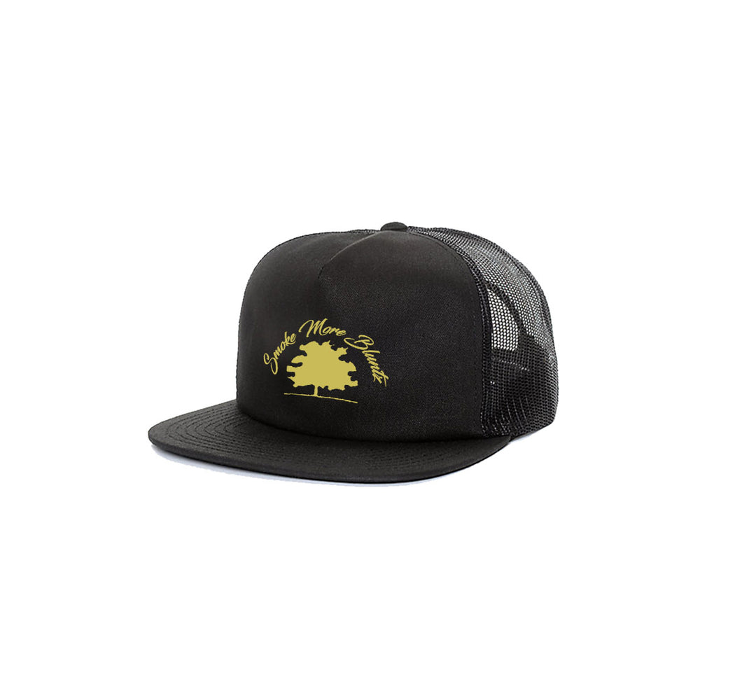 SMOKE MORE BLUNTZ 5 PANEL TRUCKER MESH HAT