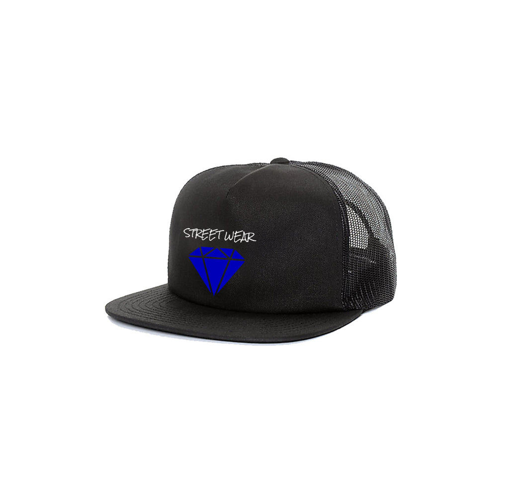 RARE STREETWEAR APPAREL 5 PANEL TRUCKER MESH HAT