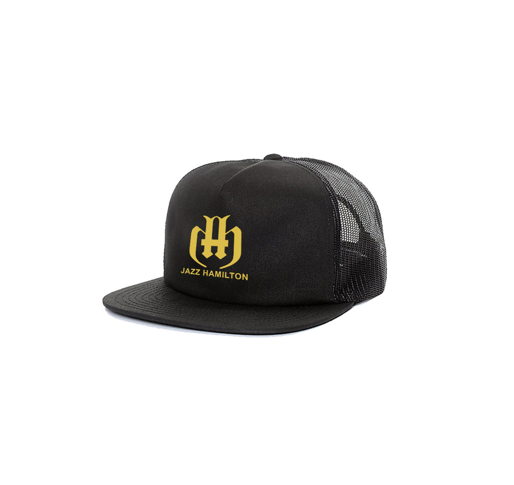 JAZZ HAMILTON 5 PANEL TRUCKER MESH HAT