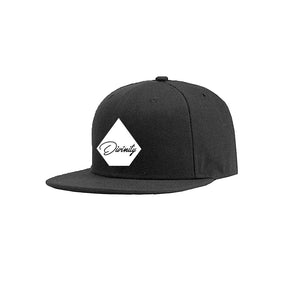 DIVINITY APPAREL COTTON TWILL 6 PANEL SNAPBACK HAT
