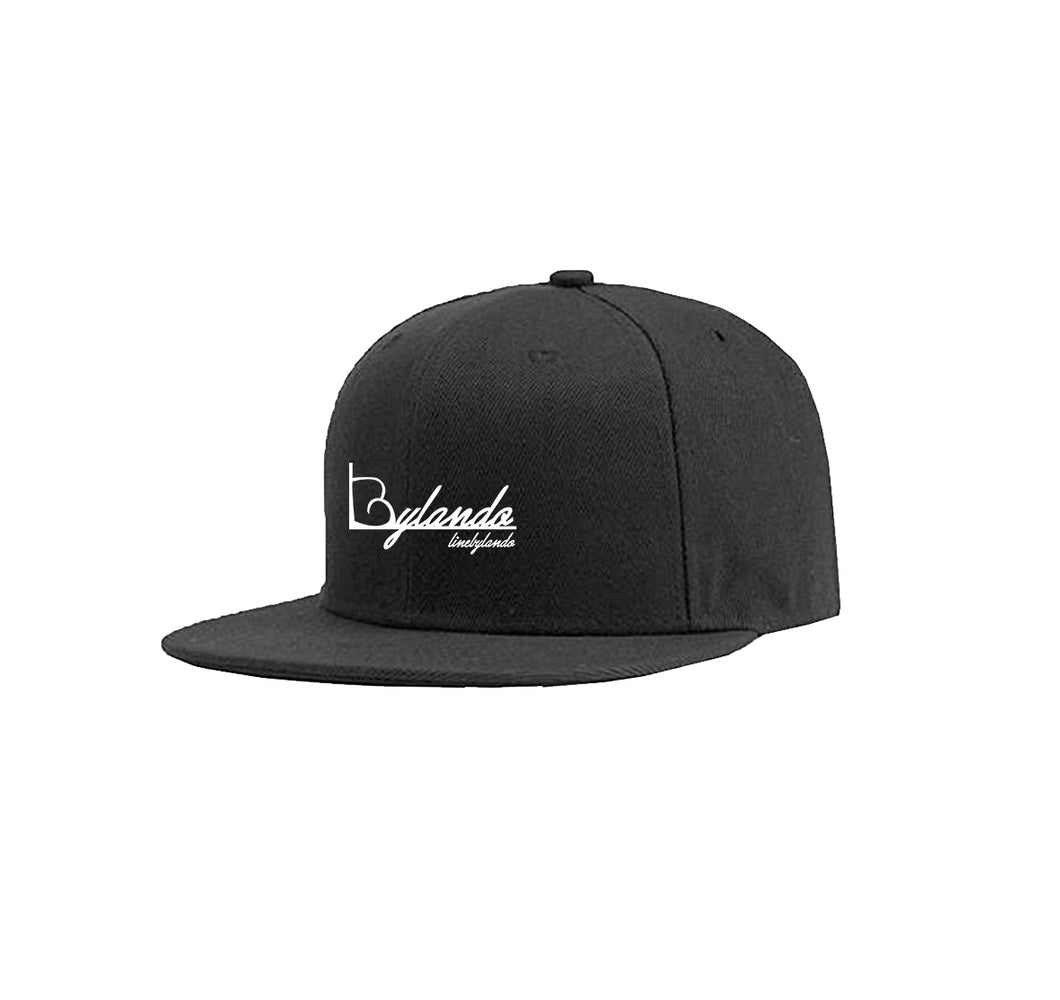 LINE BY LANDO APPAREL COTTON TWILL 6 PANEL SNAPBACK HAT