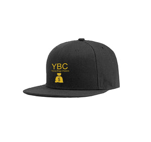 YBC APPAREL COTTON TWILL 6 PANEL SNAPBACK HAT