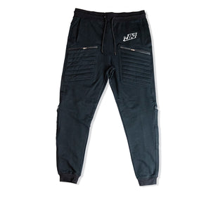 JUST KICKIN IT APPAREL PREMIUM 4 ZIPPER POCKET JOGGERS - UNISEX SLIM FIT