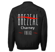 Load image into Gallery viewer, BREZEAL CHARNEY APPAREL VARSITY PERFORMANCE FLEECE LEATHER SLEEVE