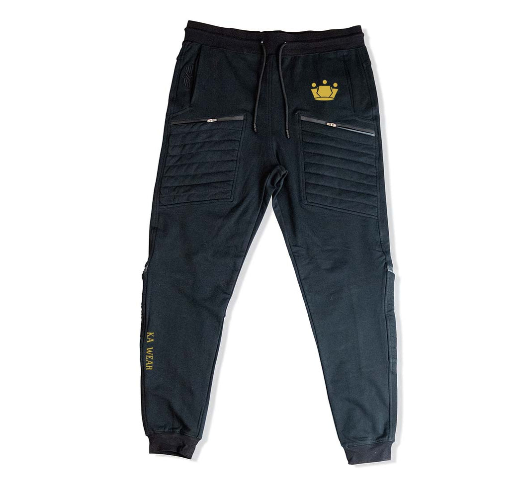 KA WEAR PREMIUM 4 ZIPPER POCKET JOGGERS - UNISEX SLIM FIT