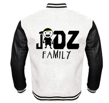 Load image into Gallery viewer, JIDZ FAMILY APPAREL VARSITY PERFORMANCE FLEECE LEATHER SLEEVE