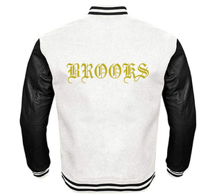 BROOKS VARSITY PERFORMANCE FLEECE LEATHER SLEEVE