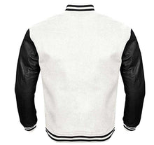 Load image into Gallery viewer, LAROSA VARSITY PERFORMANCE FLEECE LEATHER SLEEVE